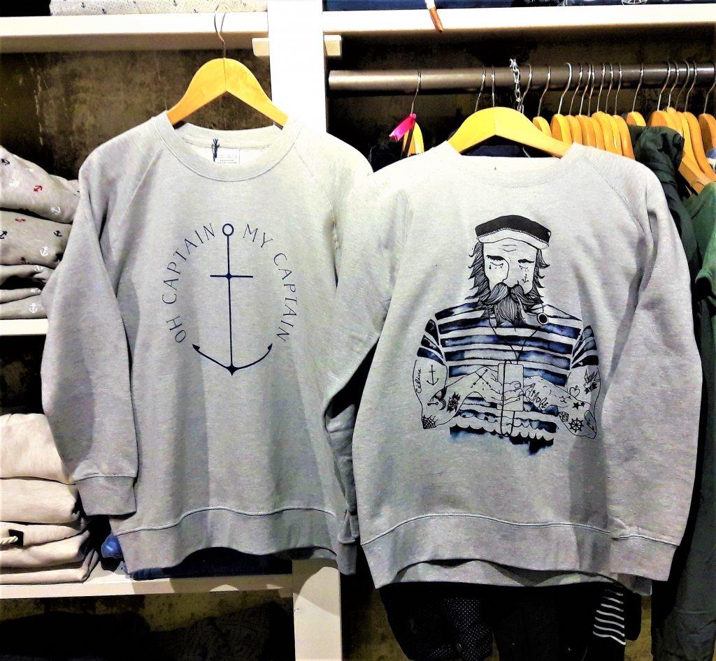 Anker Sweatshirt Femme de Marin SU Hamburg