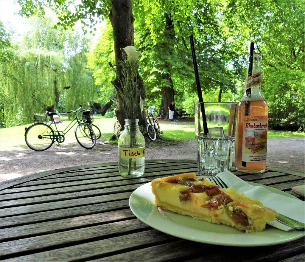 Sommer Fahrradtour durch Hamburg