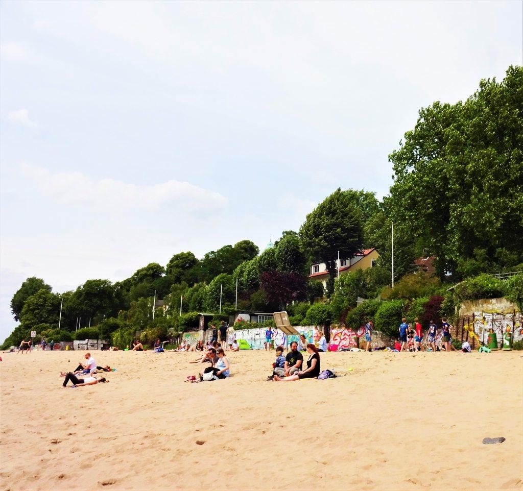Strand Elbe Strandperle