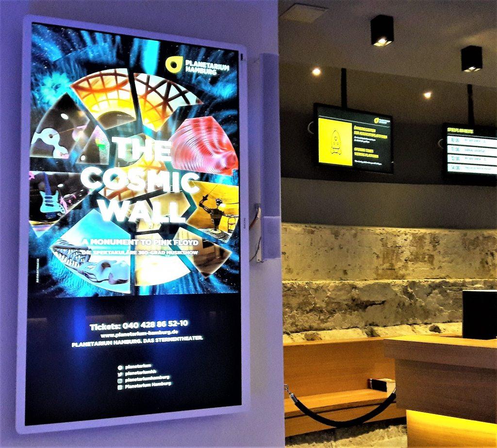The Cosmic Wall Planetarium Hamburg