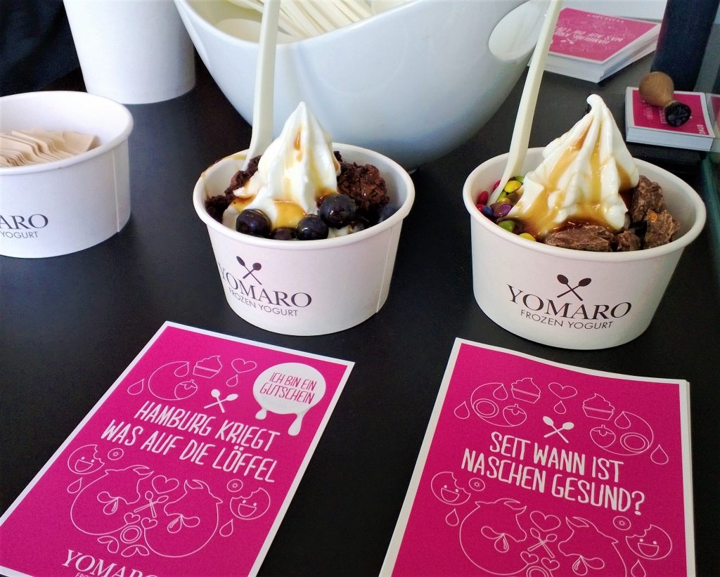 Yomaro Frozen Yogurt Hamburg