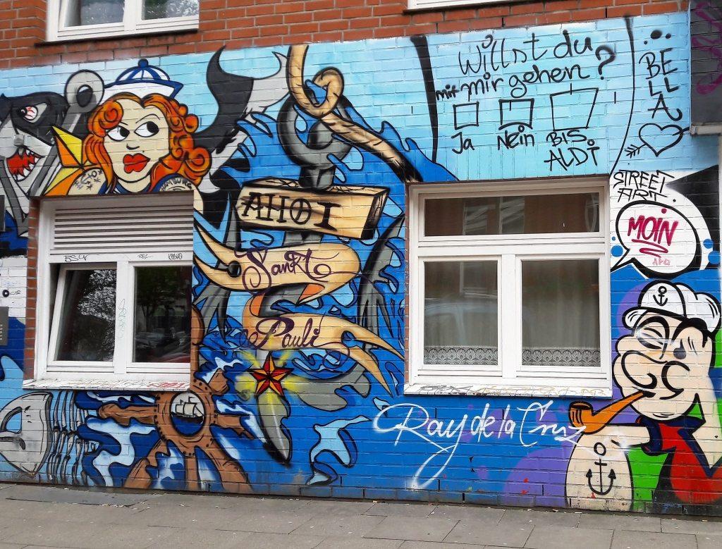 Streetart Hamburg St.Pauli Ray de la Cruz