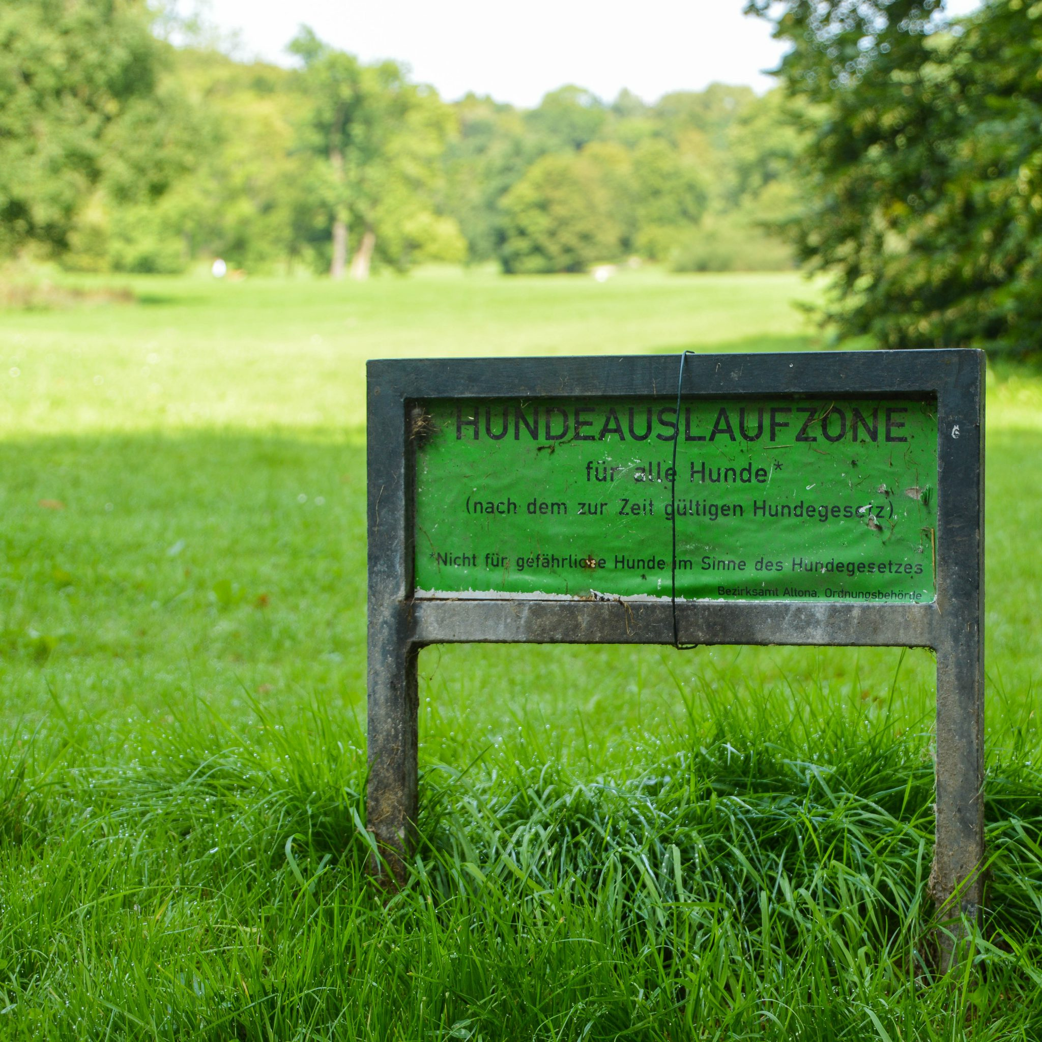 Jenischpark und Hundeauslaufzonen