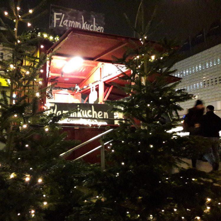 Flammkuchen Weihnachtsmarkt Osterstraße Hamburg
