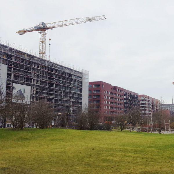 HafenCity mit anderen Augen sehen! Baustellen als Entstehung neuer toller Gebäude