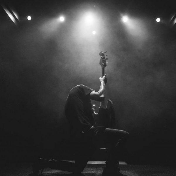 Musiker auf der Bühne - Rock on!