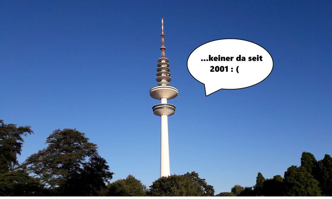 10 Sachen, die mir in Hamburg auf den Sack gehen #wirwollenwiederaufdenfernsehturm