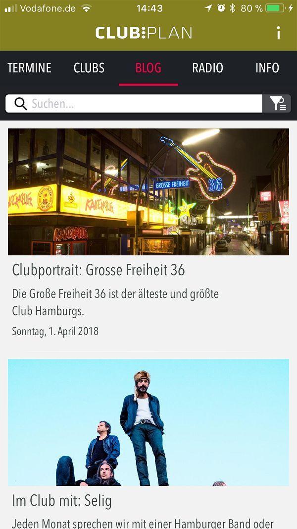 Die besten Konzerte in Hamburg - CLUB:PLANAPP