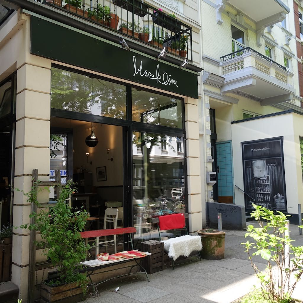 Blackline Café von außen