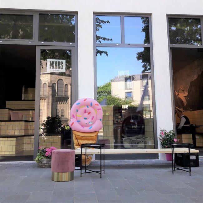 Neu in Hamburg leckeres Eis und Drinks in der MINUS Gelato Bar Karoviertel Hamburg