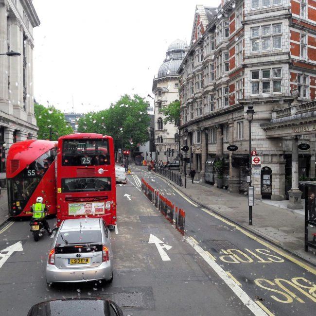 Doppeldecker Bus in London