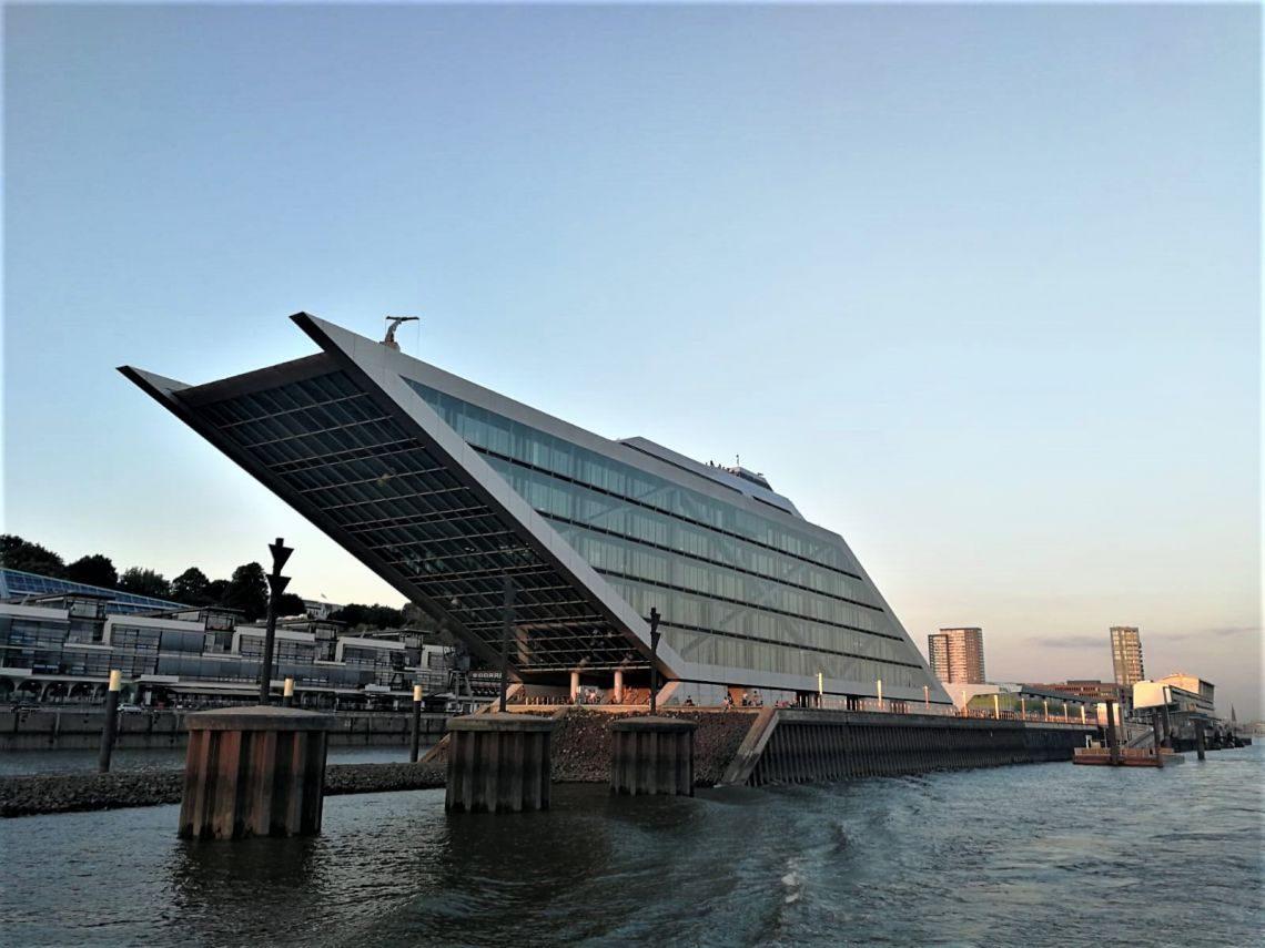 Das Bürogebäude Dockland in Hamburg