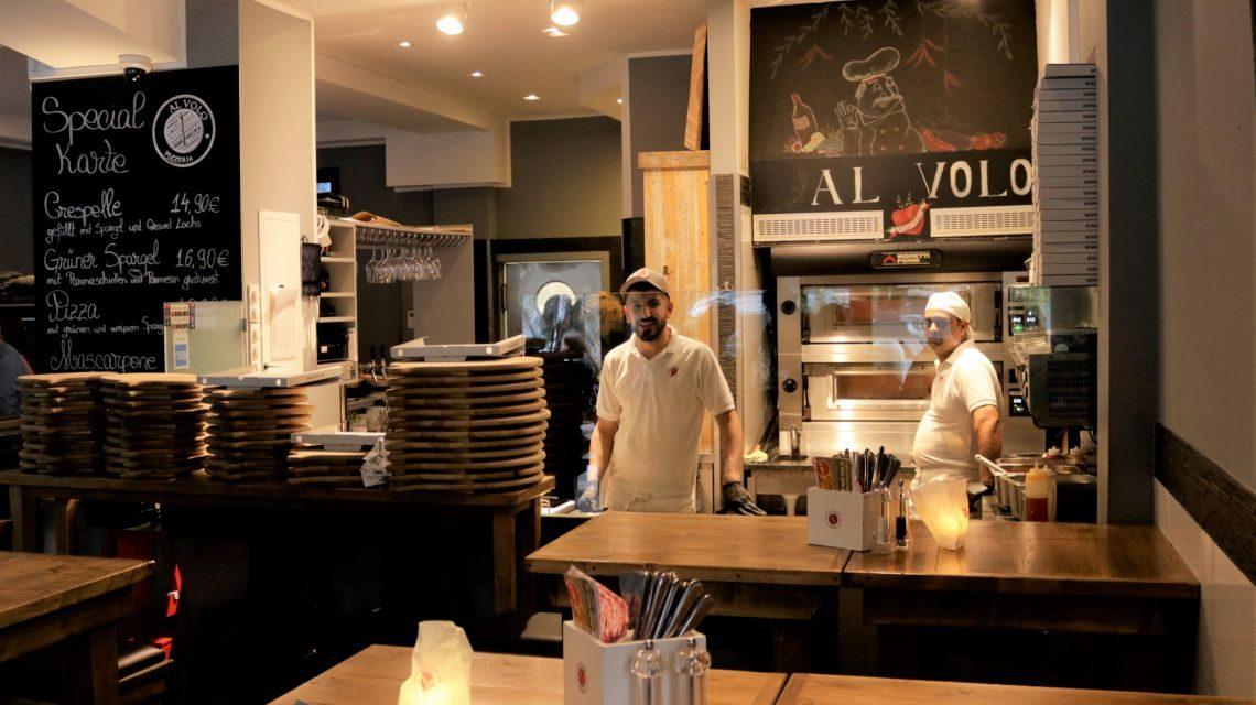 Pizzeria Al Volo in Hamburg