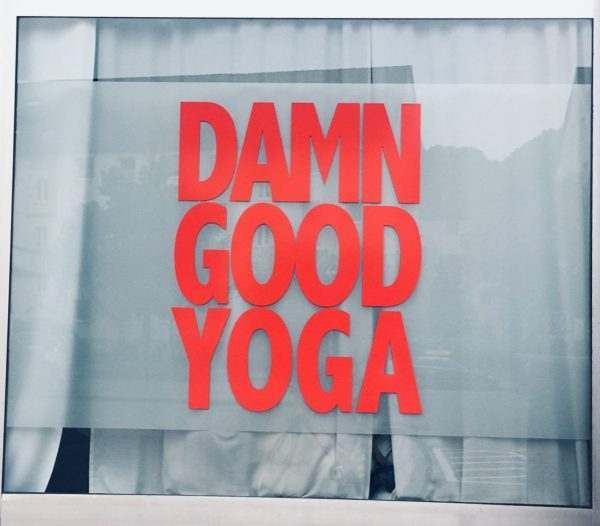 Damn Good Yoga Studio in Hamburg
