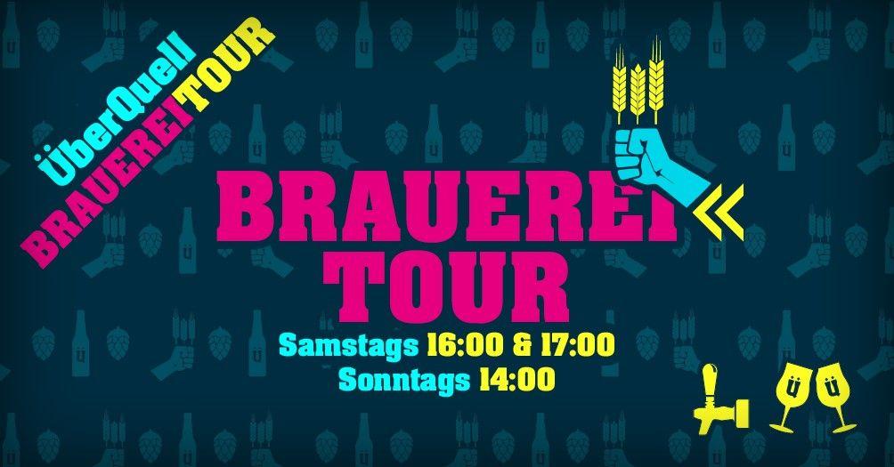 Brauereitour im ÜberQuell Restaurant