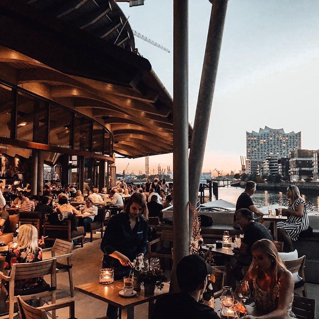 Restaurant Coast in der HafenCity