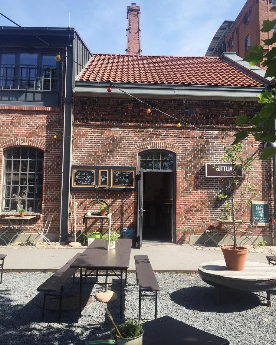 Restaurant LüttLiv in der Maurienstraße