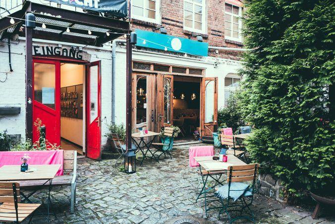 Pizzarestaurant Zweipunktnull in der Friedensallee