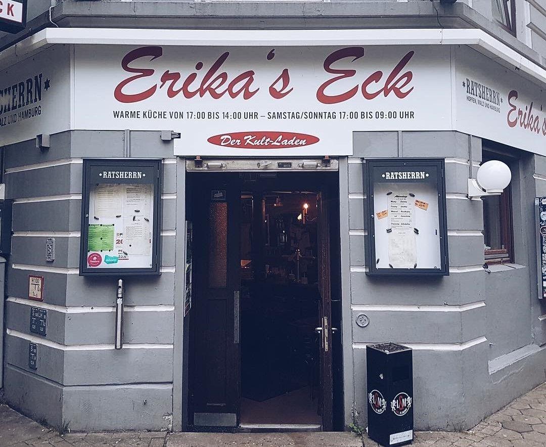 Erika's Eck - Imbissbuden in Hamburg