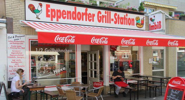 Eppendorfer Grillstation - Imbissbuden in Hamburg