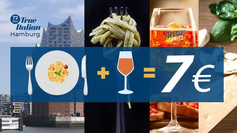 Angebot - 72 hrs True Italien Food Festival Hamburg