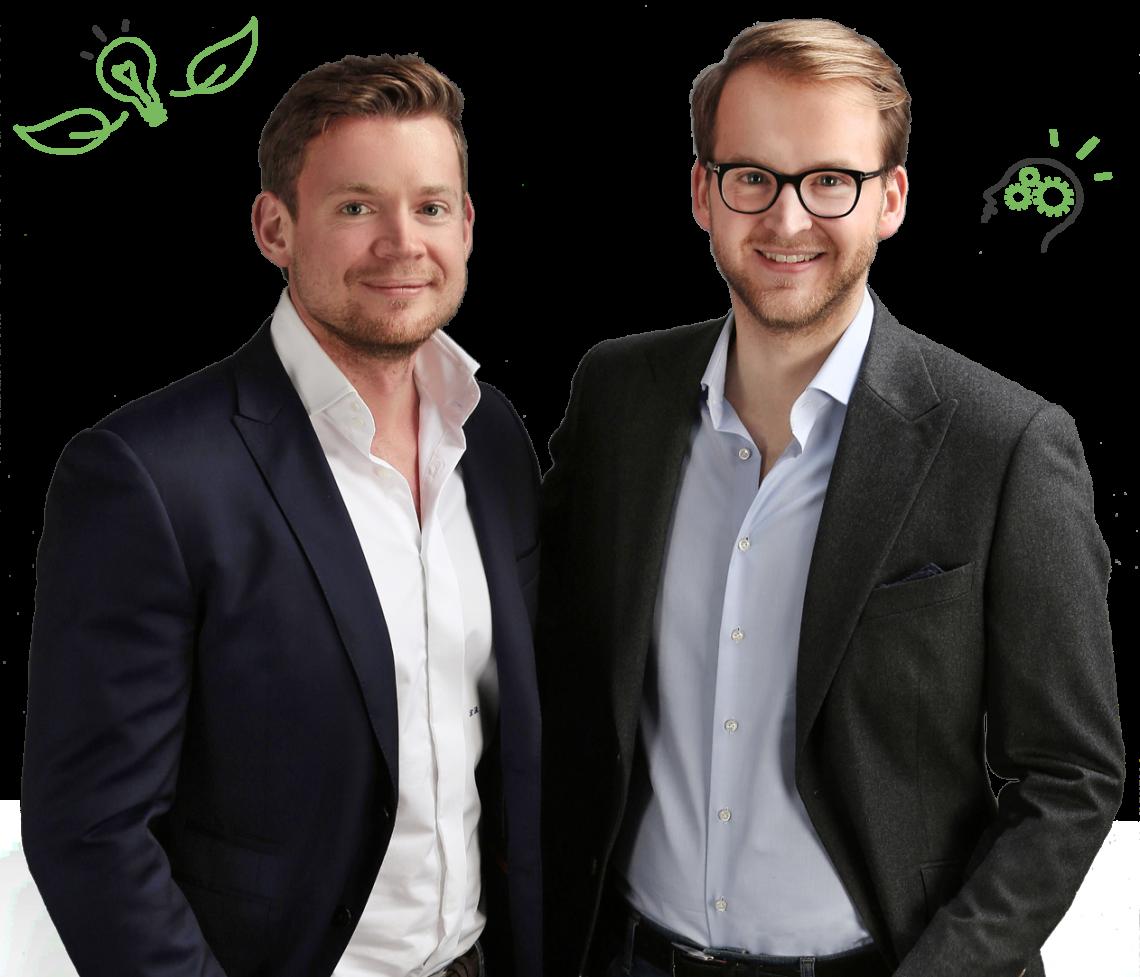 Gründerbrüder Benjamin Böning & Felix Böning von Seicha Matcha - Seicha Matcha
